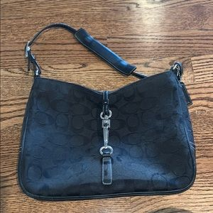 Black Coach Mini Bag